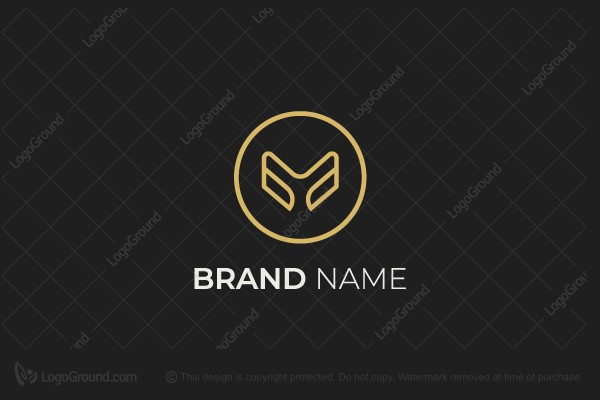 Logo for sale: Modern Letter M Logo