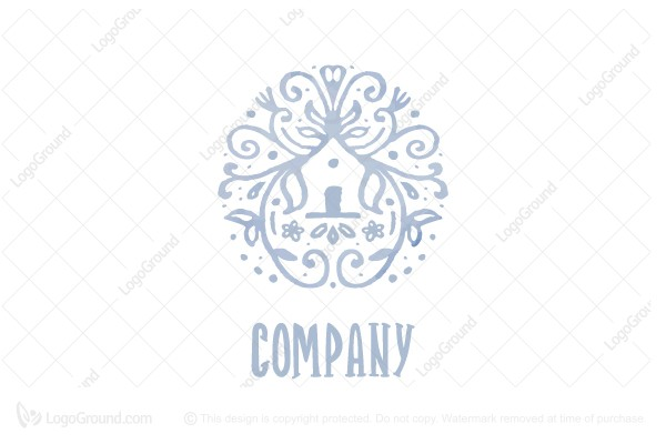 Logo for sale: Floral House Logo