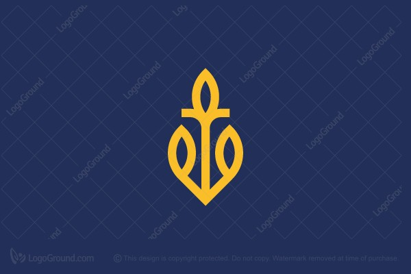 Logo for sale: Golden Anchor Logo