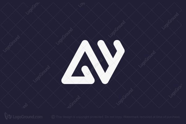 Aw Monogram Logo