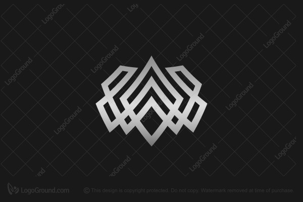 Logo for sale: Nordic Crown Logo