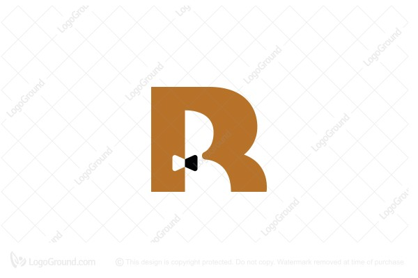 Logo for sale: Letter R And Man Logo