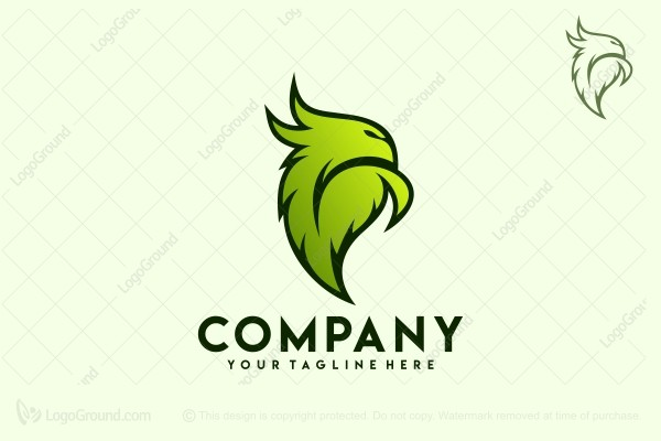Logo for sale: Leaf Phoenix Logo
