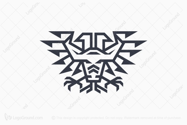 Logo for sale: Eagle Bull Logo