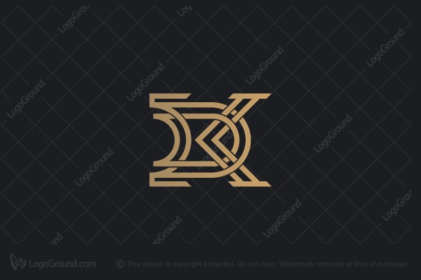 Logo for sale: Letter K D Logo