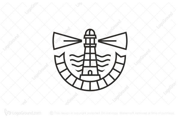 Logo for sale: Lighthouse Logo