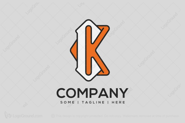 Exclusive Logo 131519, Letter Ck Logo