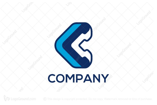 Logo for sale: Letter C Arrow Logo