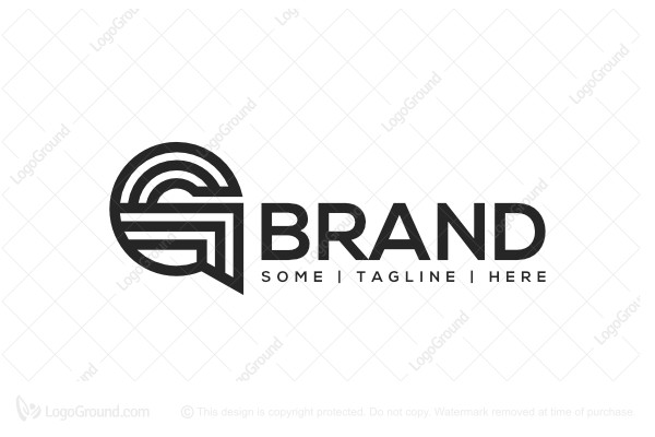 Logo for sale: Sharp Letter G Logo