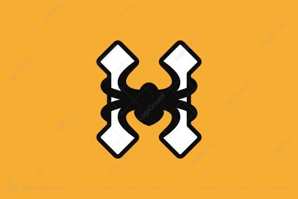 H Letter Images.Exclusive Logo 152503 Letter H Spider Logo