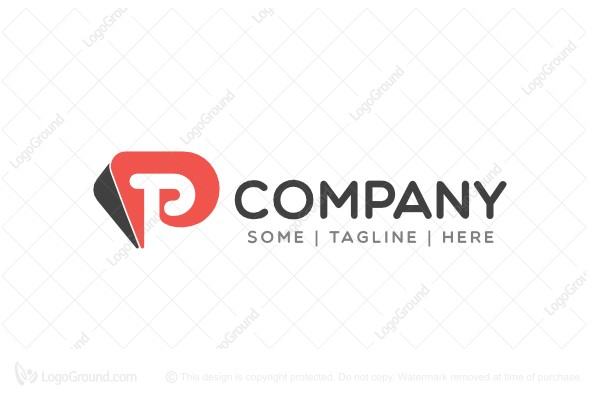 Logo for sale: Letter P Logo