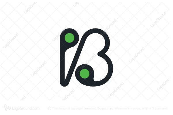 Logo for sale: Letter B Tech Logo