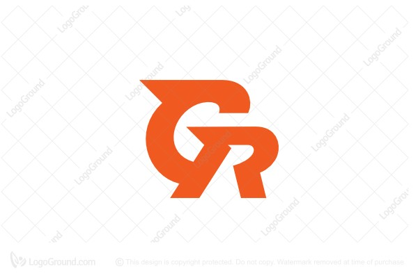 Logo for sale: Letter Gr Logo