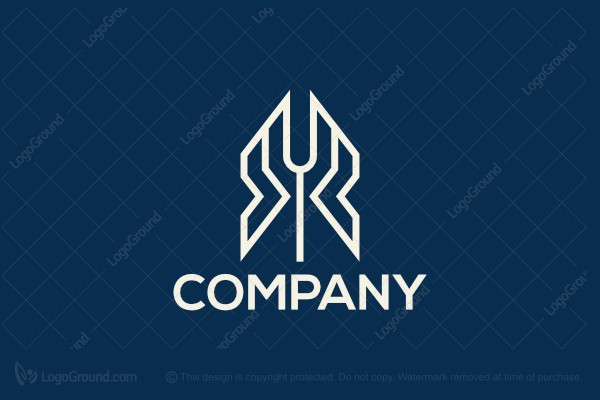 Logo for sale: Sharp Letter Y XY Logo