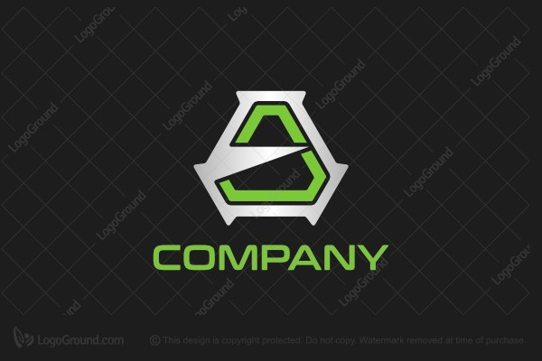 Logo for sale: Geometric Letter A Logo