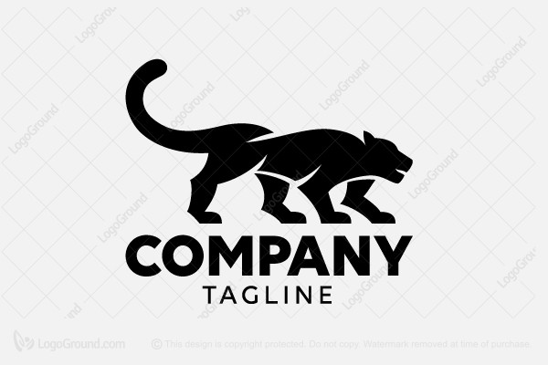 Logo for sale: Panther Logo