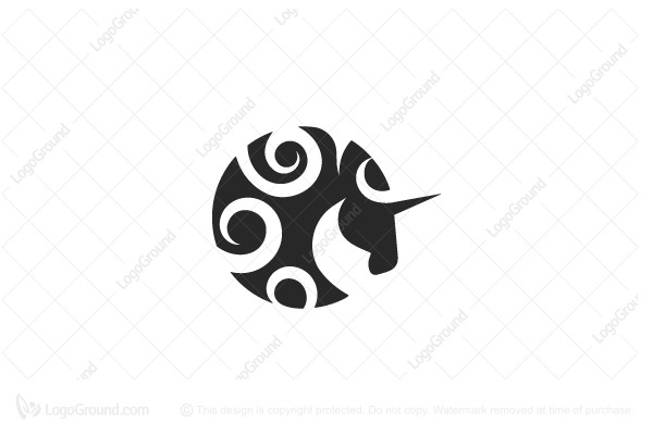 Logo for sale: Unicorn Logo