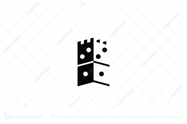 Logo for sale: Domino Castle Logo