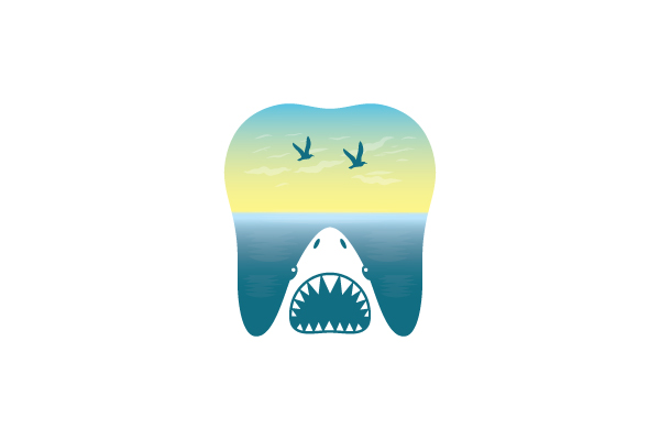 Logo for sale: Dental Shark Logo