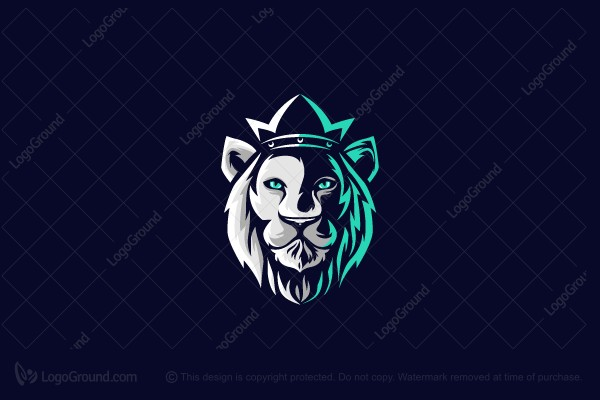 Logo for sale: White Lion Logo