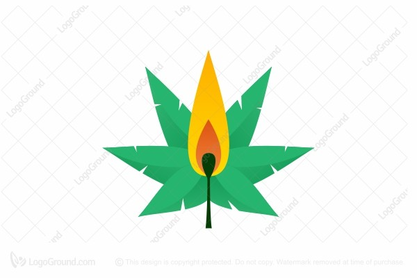 Logo for sale: Fire Cannabis Logo