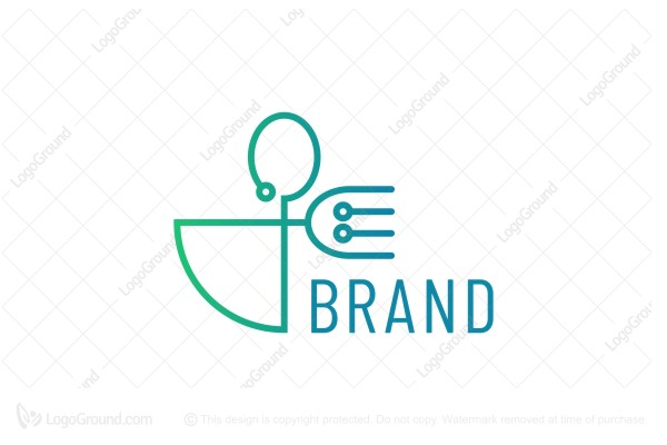 Logo for sale: Food Tech Logo