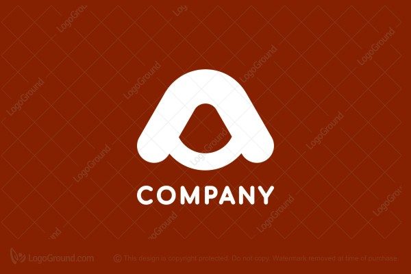 Logo for sale: Curvy A Logo
