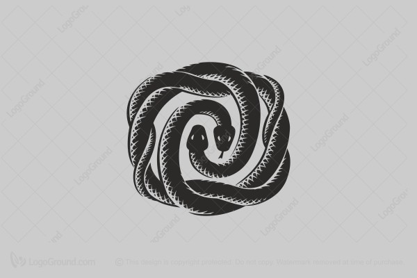 Logo for sale: Snakes Logo