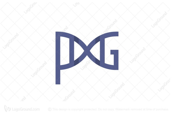 Logo for sale: Pg Dna Logo
