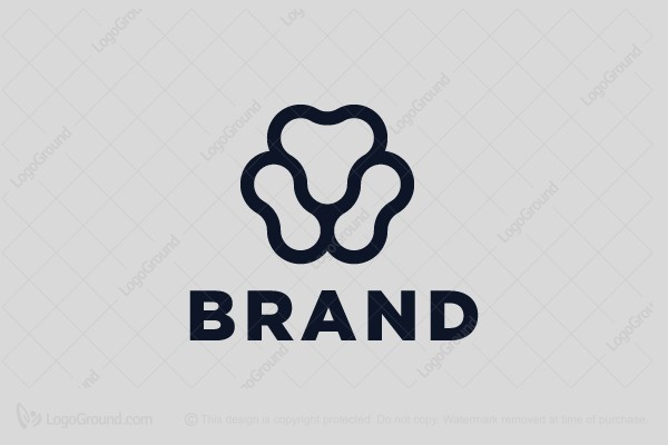 Logo for sale: Minimal Lion Face Logo
