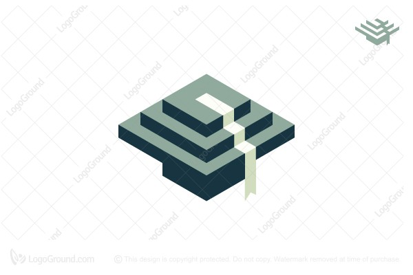 Logo for sale: Education Levels Logo