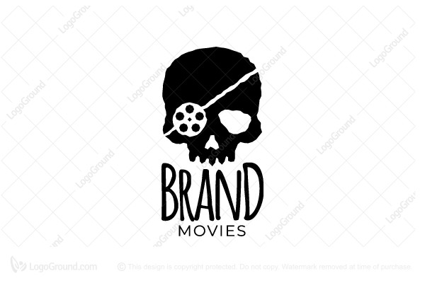 Logo for sale: Pirate Movies Logo