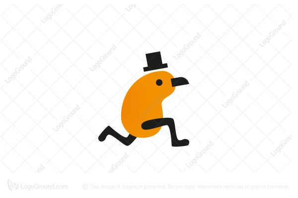 Logo for sale: Run Mr Kiwi Logo