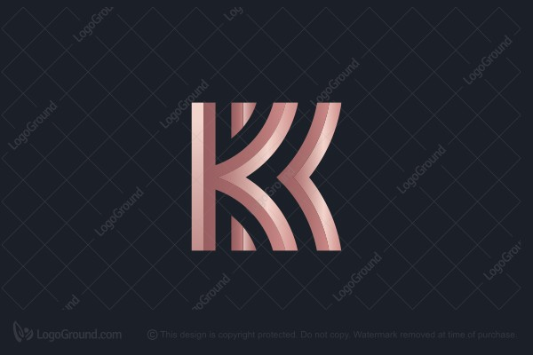 Logo for sale: Kk Logo Design Logo