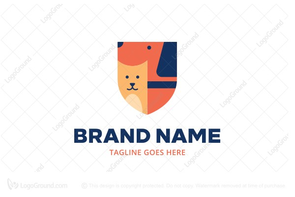 Logo for sale: Pet Shield Logo