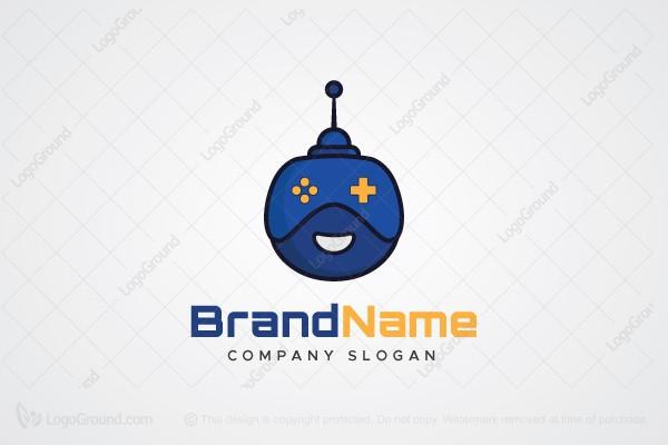 Exclusive Logo 150771, Game Bot Logo