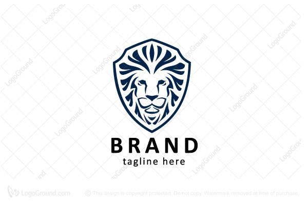 Exclusive Logo 151145, Lion Shield Logo