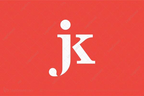 Monogram Jk Logos For Sale
