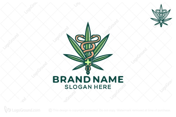 Logo for sale: Medicinal Cannabis Logo
