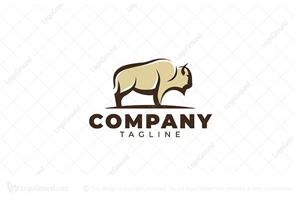 Logo for sale: Bison Logo