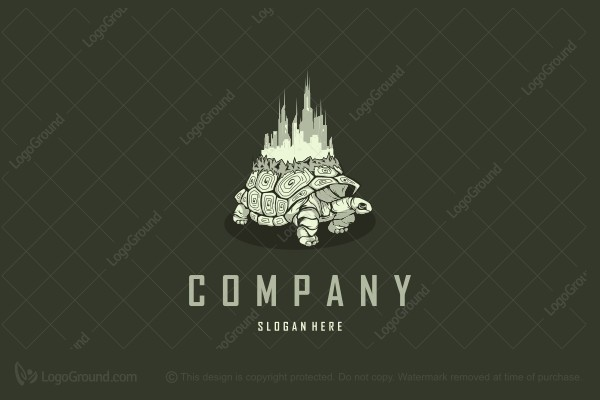 Logo for sale: Turtle City Logo