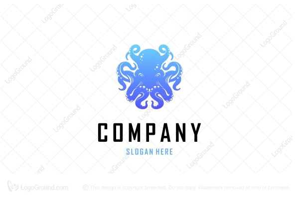 Logo for sale: Octopus Logo