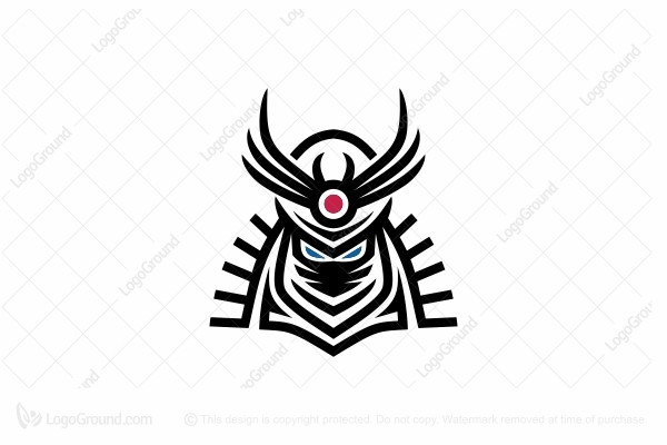 Logo for sale: Samurai Logo