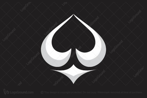 spade card logo  Exclusive Logo 5, Card Spades Logo