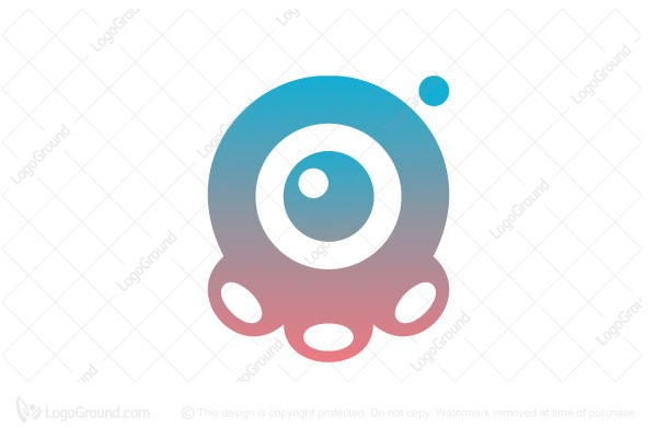 Logo for sale: Octo Cam Logo