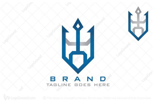 Logo for sale: Neptune Poseidon Logo