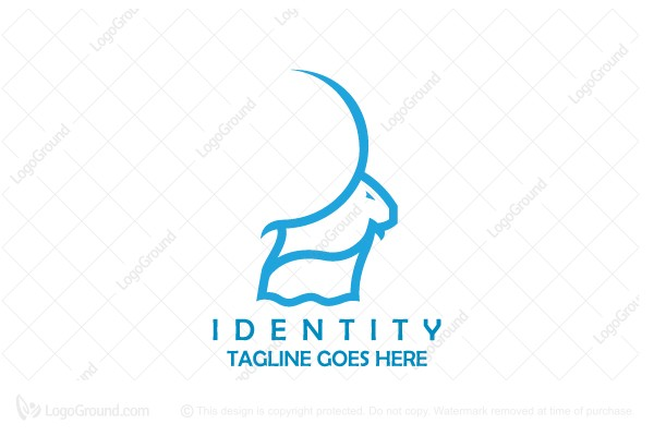 Logo for sale: Mountain Goat Logo