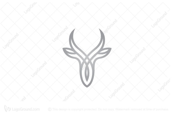 Logo for sale: Gazelle Logo