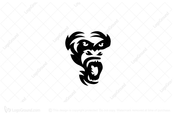 Logo for sale: Gorilla Logo
