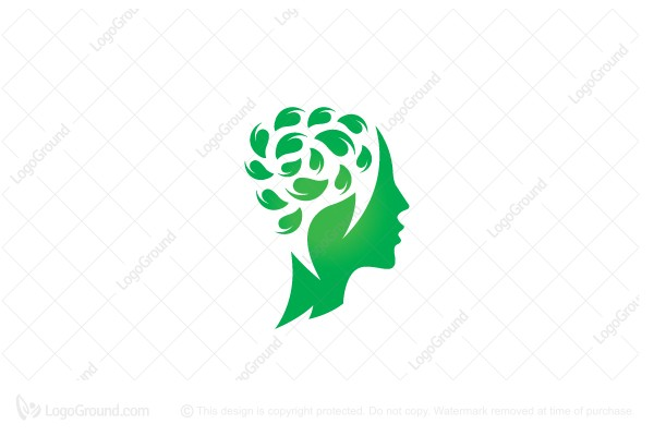 Logo for sale: Nature Brain Logo
